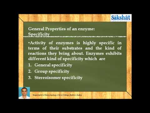 Introduction to enzyme and basics of enzyme assay