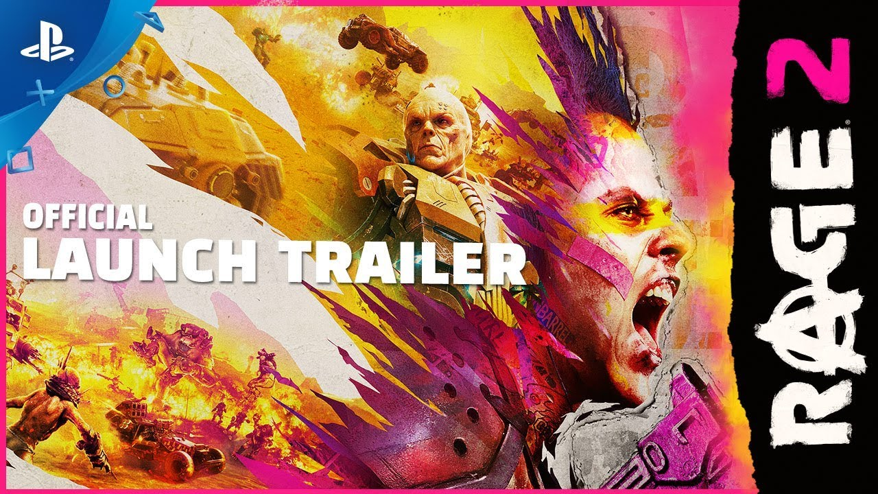 Rage 2 - Story Rewind Launch Trailer   PS4 thumbnail
