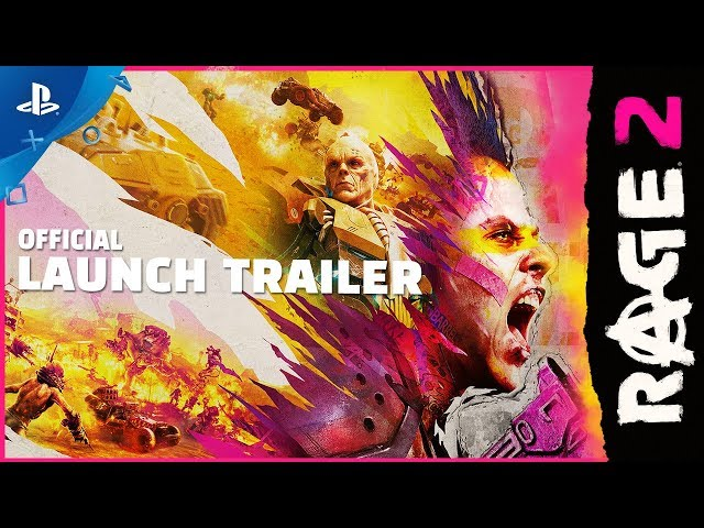 Rage 2 - Story Rewind Launch Trailer | PS4