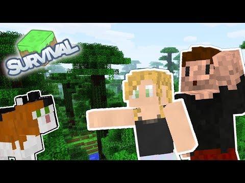 JA CHCE KOTA, ZIO! - Minecraft Survival LIVE | AGU i ZIO