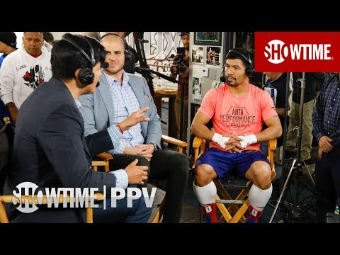Manny Pacquiao Media Workout Interview   Jan. 19 on SHOWTIME PPV