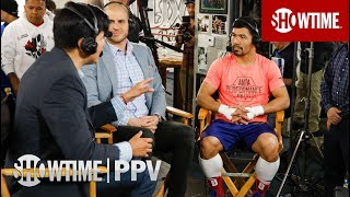 Manny Pacquiao Media Workout Interview | SHOWTIME PPV