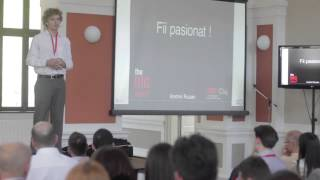 Be passionate!: Andrei Rusan at TEDxCluj