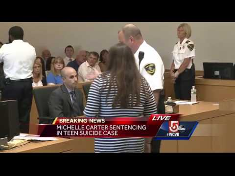 Sister, father of Conrad Roy III speak at Carter's sentencing