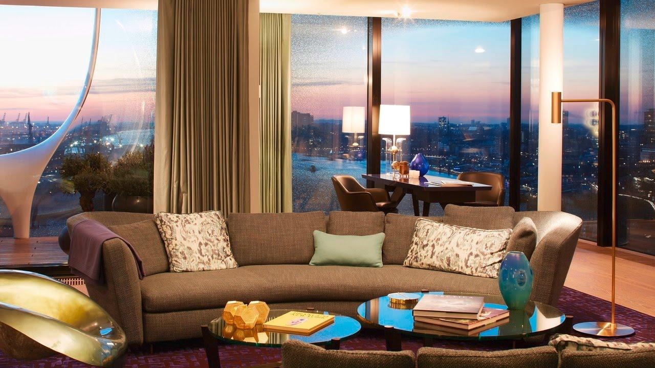 luxus pur das ist die teuerste wohnung hamburgs youtube. Black Bedroom Furniture Sets. Home Design Ideas