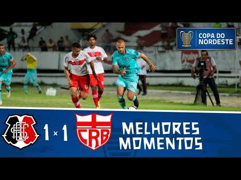 Santa Cruz 1 (8) x (7) 1 CRB | Gols e Melhores momentos | Quartas de final | Copa do Nordeste 2019