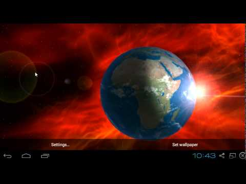 Earth 3D HD Live Wallpaper Android