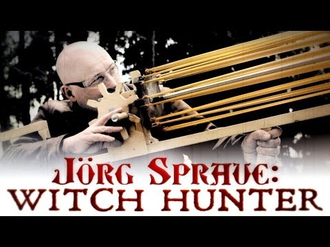 "Jörg Sprave: Witch Hunter (2/3) ""The Witch Beheader Bazooka"""