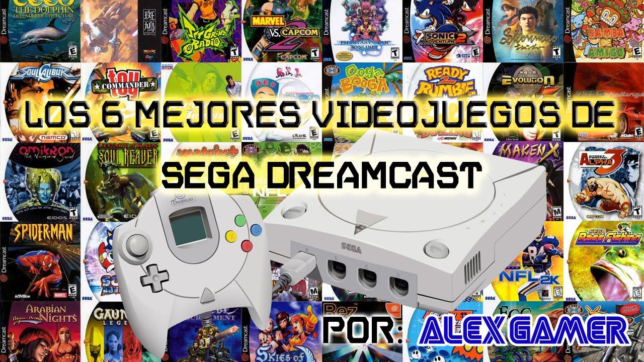 Top Los 6 Mejores Videojuegos De Sega Dreamcast Youtube