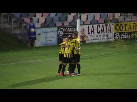 1ª Ronda Copa. Barakaldo CF 4 - SD Zamudio 0