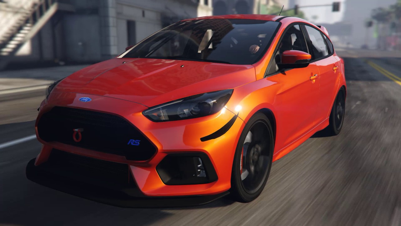 ford focus rs gta 5 car mod youtube. Black Bedroom Furniture Sets. Home Design Ideas