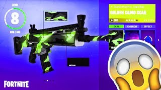 FORTNITE WEAPON SKINS! NEW WEAPON SKINS FORTNITE BATTLE ROYALE! (Fortnite Weapon Update)