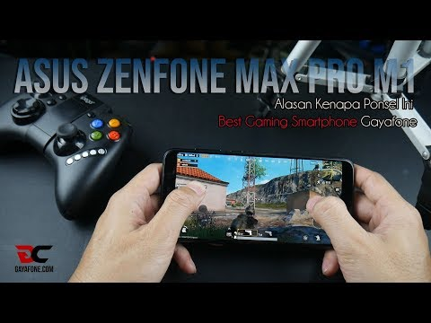 REVIEW ASUS ZENFONE MAX PRO M1, Best Gaming Smartphone?? (INDONESIA)
