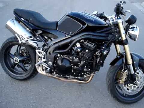 2007 Speed Triple 1050 - YouTube