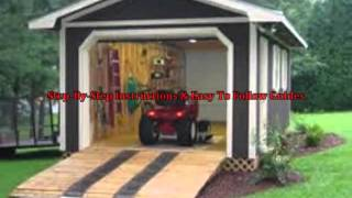 Free Storage Shed Plans With Loft (visit: Www.budurl.com/completeshedplans)