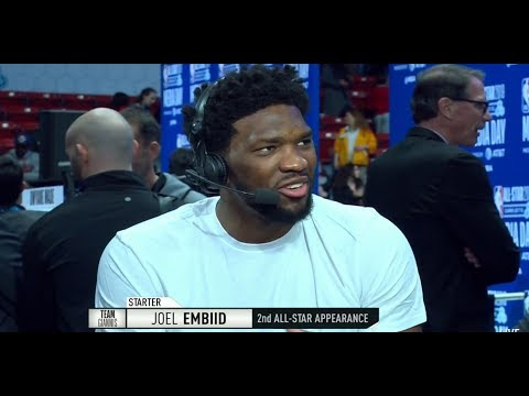 GameTime - Joel Embiid joins the Show | All-Star Media Day | February 16, 2019