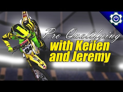 MX Simulator - Pro Qualifying with Kellen - 2017 Toronto SX