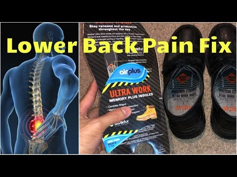👣Lower Back Pain Fix | Best Orthotic Shoe Inserts Dr. Scholl's & Airplus Memory Foam Shoe Pads