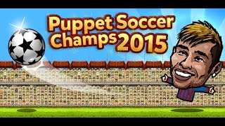 Puppet Soccer Champions 2015 - gameplay