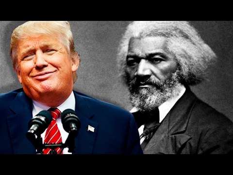 Trump On Black History: Frederick Douglass Being Noticed More & More, CNN Is 'Fake News' & SO UNFAIR