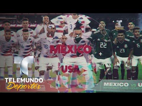 Estados Unidos supera a México en cambio generacional | Selección Mexicana | Telemundo Deportes