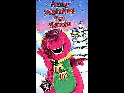 opening closing to barney waiting for santa 1998 vhs. Black Bedroom Furniture Sets. Home Design Ideas