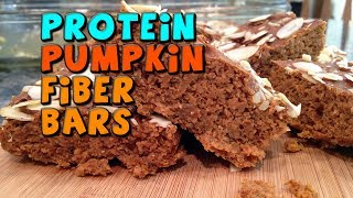 PROTEIN Pumpkin Fiber Bars Recipe