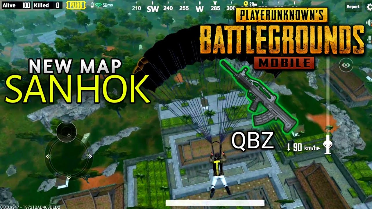 Pubg Mobile New Map Sanhok And Qbz Win Playerunknown S