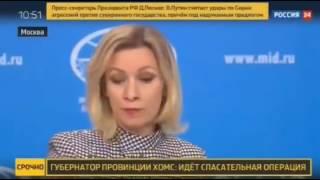 Мария Захарова на канале Россия 24 (07.04.2017)