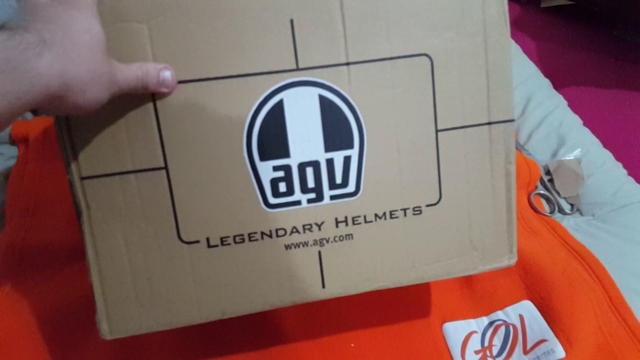 UNBOXING - AGV K3 TURTLE (BR)