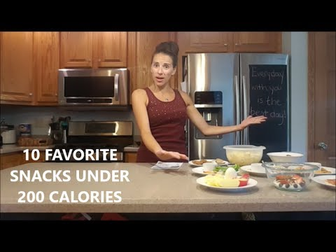 10 SNACKS UNDER 200 CALORIES EXTENDED VERSION | HEALTHY SNACKS | HEALTHY EATING