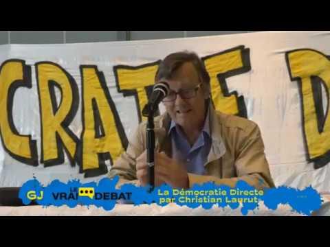 Démocratie Directe vs RIC - Christian Laurut vs Etienne Chouard (1ère partie)