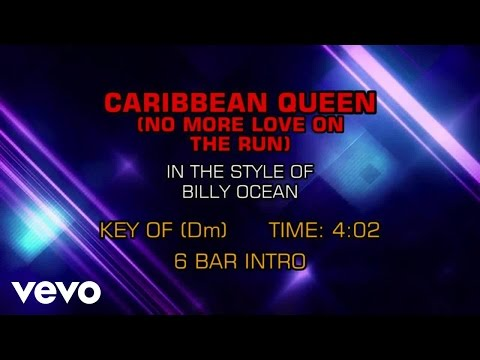 Billy Ocean - Caribbean Queen (No More Love On the Run) (Karaoke)