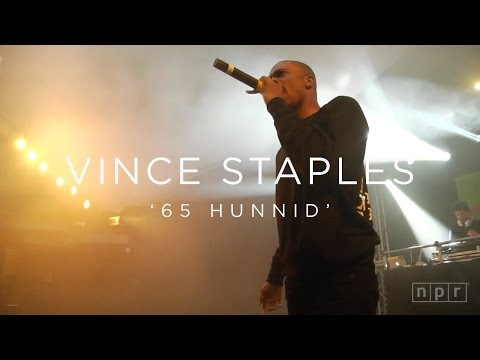 Vince Staples: '65 Hunnid' SXSW 2016 | NPR MUSIC FRONT ROW