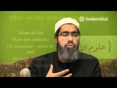 Learning With The Tools Of Sound Understanding - Shaykh Faraz Rabbani