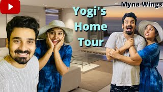 Yogi's Home Tour | Myna Wings | Mynanandhini | Yogeshwaram