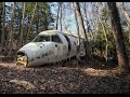 Abandoned Plane Crash in Woods(German Airline)