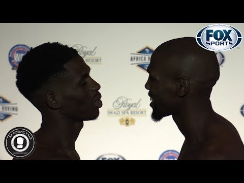 Fox Sports Africa - Weigh in - Swaziland (2018-11-01)