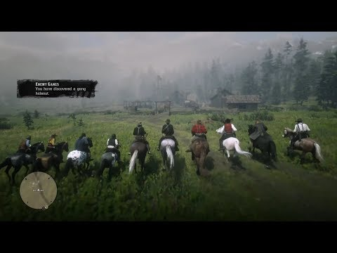 Dutch Van Der Linde Gang Vs O'Driscoll Gang Hideout - Red Dead Redemption 2