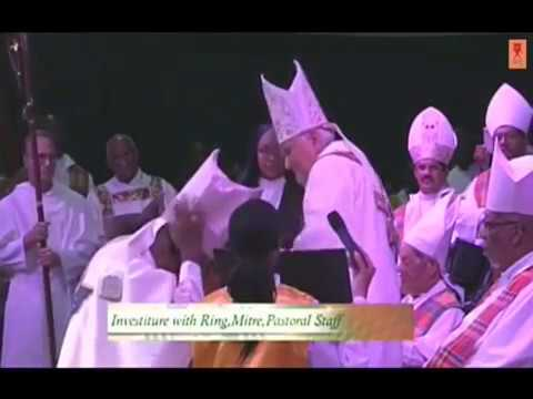 Father Clyde Harvey Ordained As Bishop In Grenada