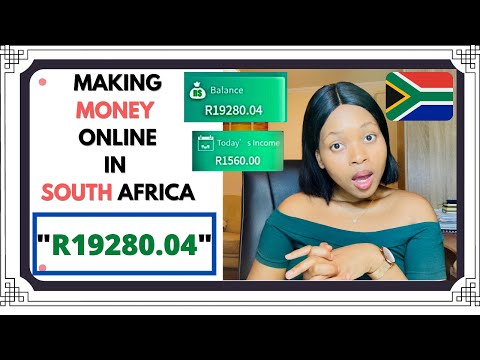 """HOW TO MAKE MONEY ONLINE """"FAST"""" IN SOUTH AFRICA (MUST WATCH!!!)"""