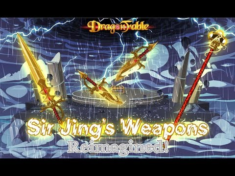 Dragon Fable Sir Jing's Weapons Remastered