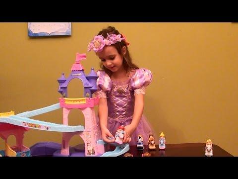 Disney Princesses - Fisher Price Little People Disney Princess Klip Klop Stable