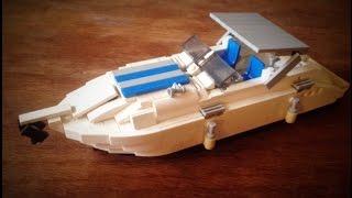 Lego Boat - sports yacht cabin cruiser MOC