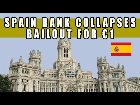 Spain Bank COLLAPSES! Bailout for Just €1 as EU Completely Falling Apart!