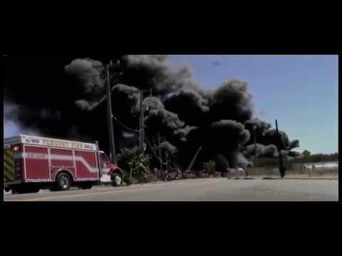 ALAMEDA COUNTY FIRE DEPARTMENT-  NEWARK POLICE-BIG FIRE