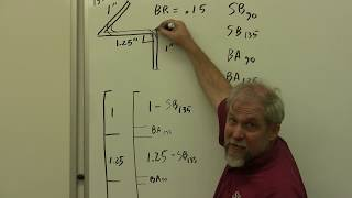 AVT 206 A&P - Tнe Math Behind the Bends - Example 4 - 90 and non 90