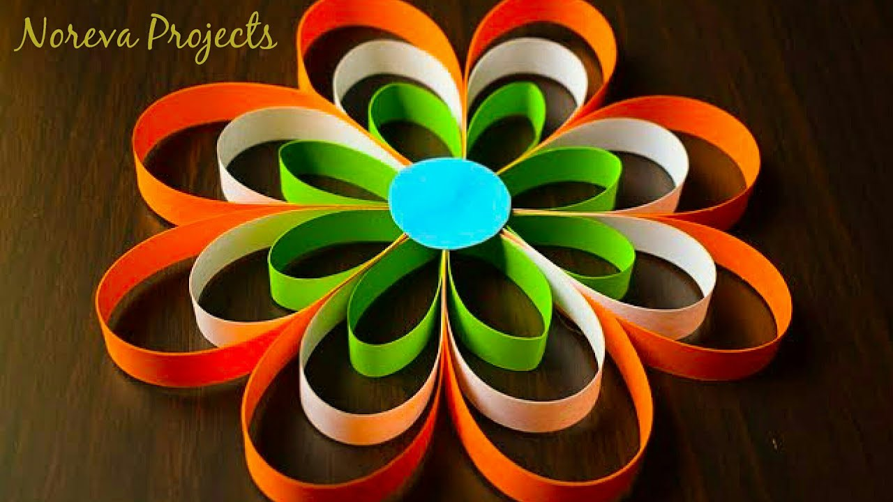 Diy Republic Day Crafts Ideas Diy 3d Paper Crafts For Republic Day