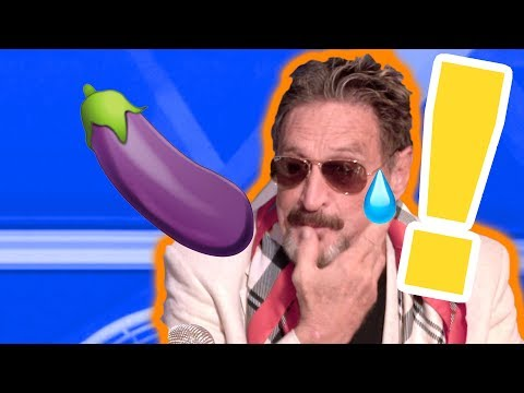 McAfee - How Will You EAT Your Own D*CK? (Blockchain Cruise)