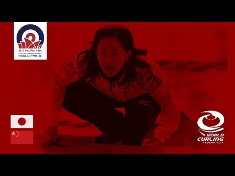 Japan v China - Women- Round-Robin - Pacific-Asia Curling Championships 2017